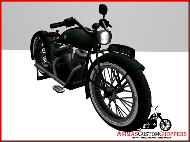 Indian alike motorcycle - ACC - 741b *ANNIVERSARY-OFFER*