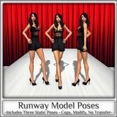 Magnifique - Runway Model Poses (Single Poses)
