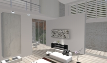 Designer Prims Summer Beach House, Prefab, Home, Loft