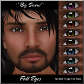 ~*By Snow*~ Fall Eyes (Fat Pack)