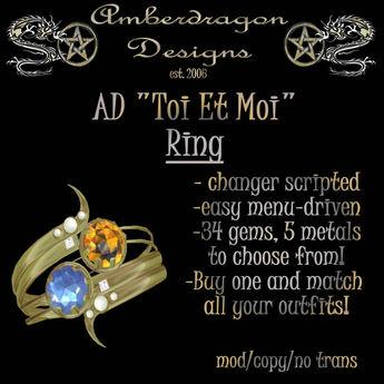 """Ring """"Toi Et Moi"""" (fully scripted) (b)"""