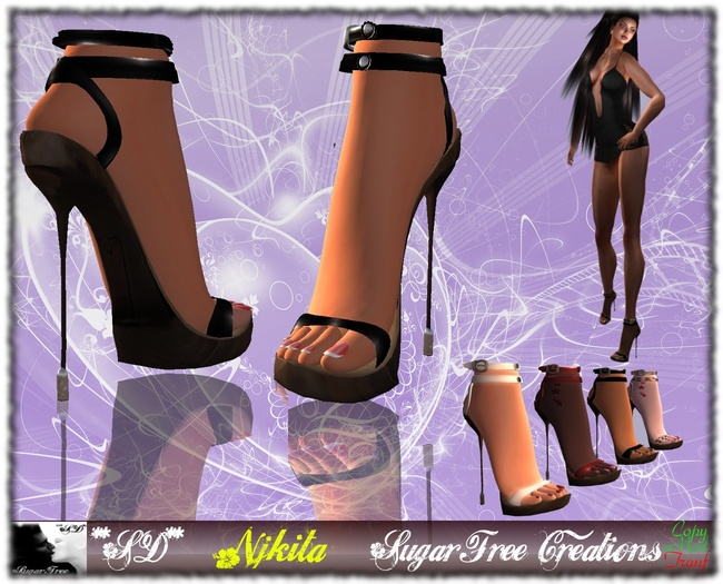 **SD** -NJKITA- Super Sexy High Heels Shoes - Multicolor