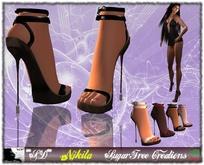**SD** -NJKITA- Super Sexy High Heels Shoes - Multicolor