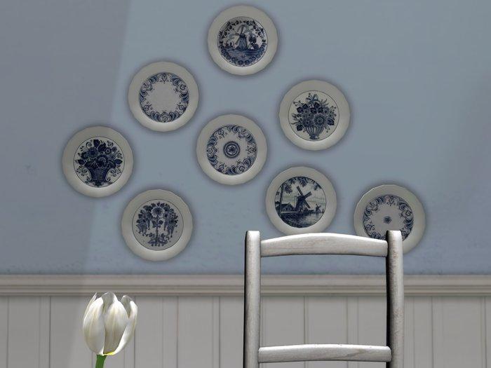 Dutchie mesh decorative plates