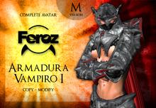 Feroz - Armadura Vampiro I - male version
