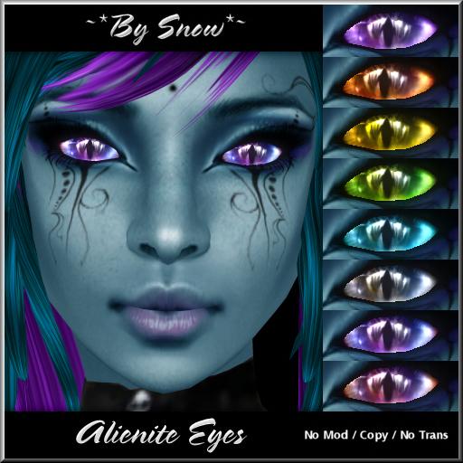 ~*By Snow*~ Alienite Eyes (8 pack)