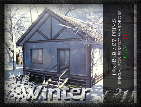 ~O2H :: Winter Little House.