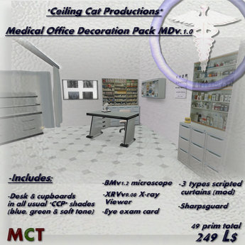 *CCP*  MDv1.0 Medical office decorations pack