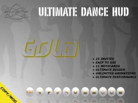 ULTIMATE Dance HUD [GOLD Edition] +25Invites