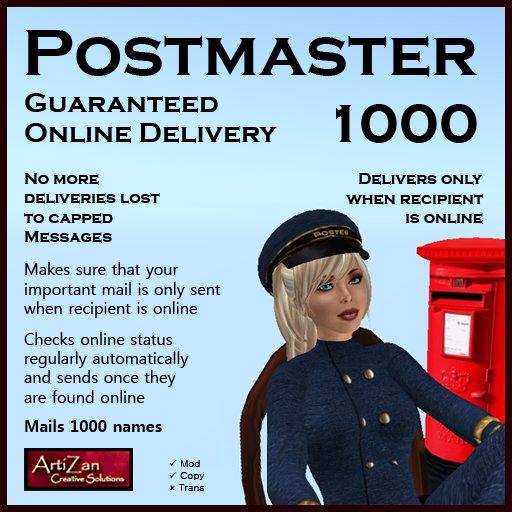 ArtiZan Postmaster (1000) - Online Delivery Mail Server