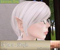 {Lemon Tea} Elven Ear - Simple