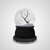 [Commoner] Snow Globe / Bare Tree