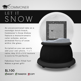[Commoner] Snow Globe / Picture Frame