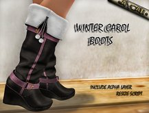 [ ANCAYI ] WINTER CAROL BOOTS !