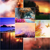 2011 fantasy fall nature background textures