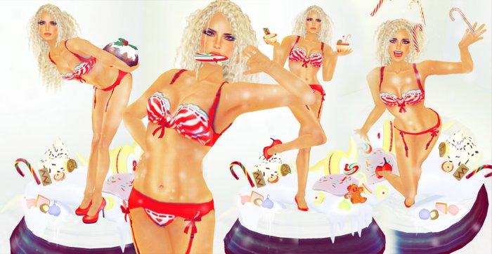 "[LA] LOSTANGEL:  ""The Cupcake"" - Multipose"
