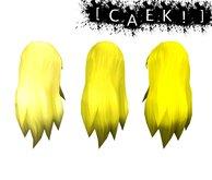 Hair - Yellow Pack - By [CAEK!]