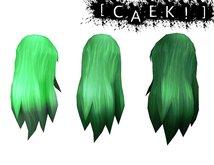 Hair - Green Pack - By [CAEK!]