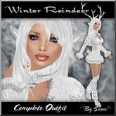 ~*By Snow*~ Winter Reindeer