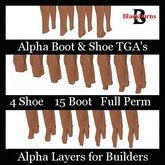 Alpha Layers for Boots & Shoes 2011 - BOM Compatible 2020