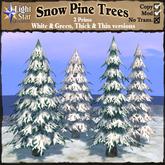 *LightStar - Snow Pine Trees