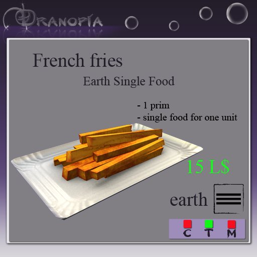 Dranopia 1 French Fries (birth element Earth)
