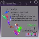 Dranopia 6 Candys