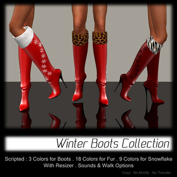 - MPP - Winter Boots - Red