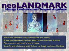 neoLANDMARK - Grid Wide Teleport and Landmark Manager