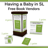 Book Vendors for 'Having a Baby in Second Life Guidebook'