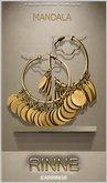 (50%OFF SALE!)[MANDALA]RINNE EARRING(Inca Gold)