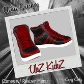 KIckZ (red &black)