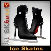 :: V Style SKha V.3 - Black :: Ice Skates
