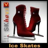 :: V Style SKha V.3 - Red :: Ice Skates