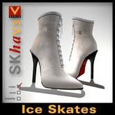 :: V Style SKha V.3 - White :: Ice Skates