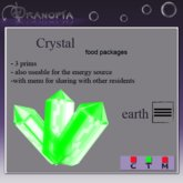 Dranopia 20 Earth Crystal (birth element Earth)