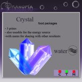 Dranopia 50 Water Crystal (birth element Water)