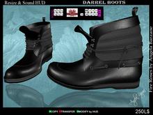 Shoes-Men fR003 Darrel black,  LOVE, GIFT, FREE, DOLLARBIE