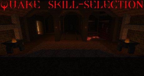 Quake skill-selection map