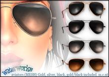 WaterWorks UV Classic Aviator Sunglasses