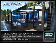 SUPER Beach Club - BLUE WAVES