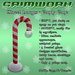 GRIMWORX Street Lamps - Candy Cane Package