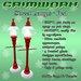 GRIMWORX Street Lamps - Red