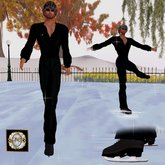** JC ** Ice Dress For Men with Skate