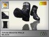 JILROXY Tifun Boots Male - Black - Mesh