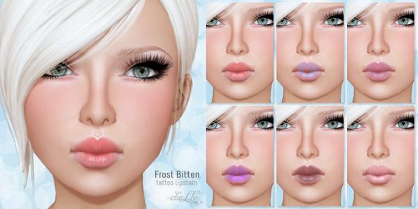 cheLLe (lipstain) Frost Bitten