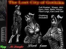 Lost City of Gothika - Dark Faun Avatar