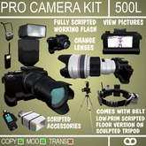 Professional Camera Kit