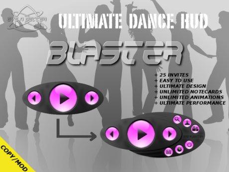 ULTIMATE Dance HUD [BLASTER Edition] +25Invites