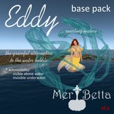 "Mer Betta™ ""Eddy"" swirling waters basepack"